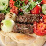 Albasha kafta Kebab Plate